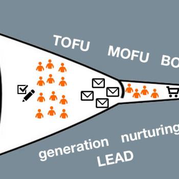 embudo de conversión : mofu, tofu, bofu