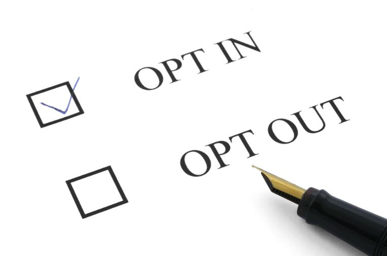 opt-in opt-out