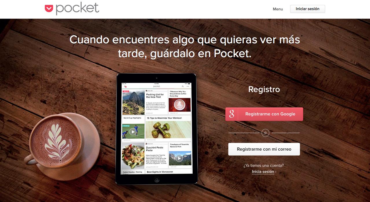 mejores apps: Pocket