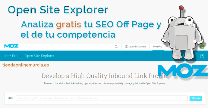 Open Site Explorer para conseguir enlaces SEO