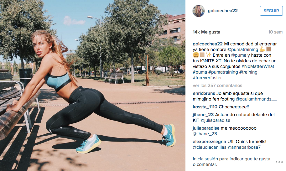 campañas con influencers de moda: Puma