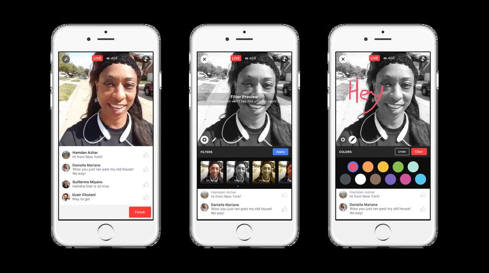 vídeo en redes sociales: Facebook Live
