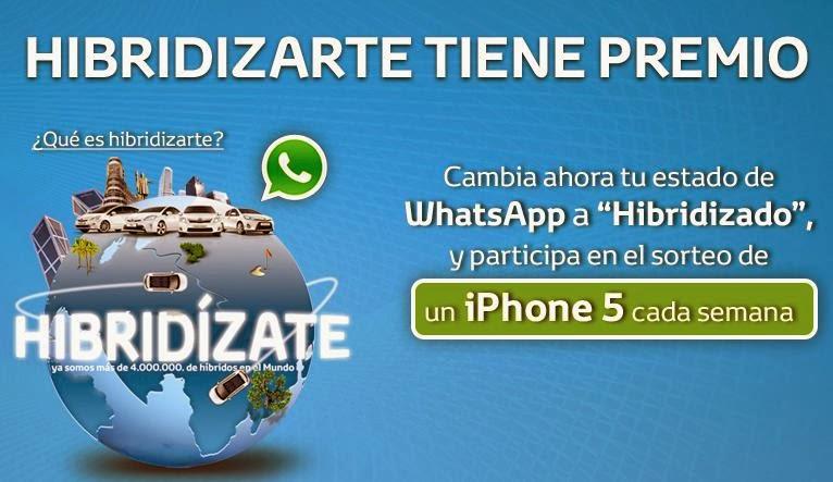 campañas en Whatsapp: Toyota