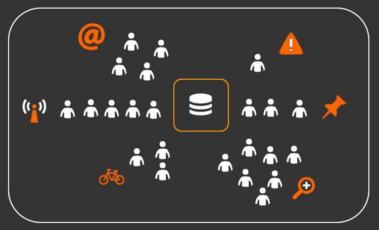 segmentar usuarios para lograr bases de datos de emails