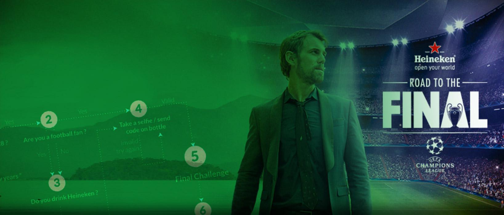 campañas en Whatsapp: Heineken