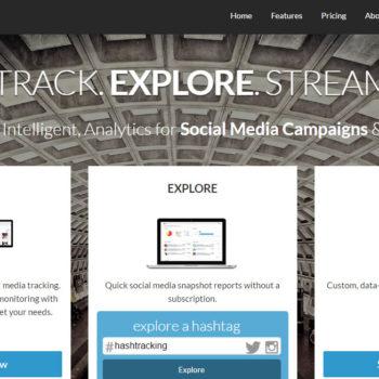 herramientas para analizar hashtags: Hashtracking