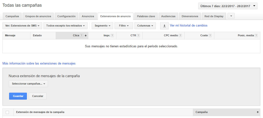 Click-to-text SMS Marketing y Adwords
