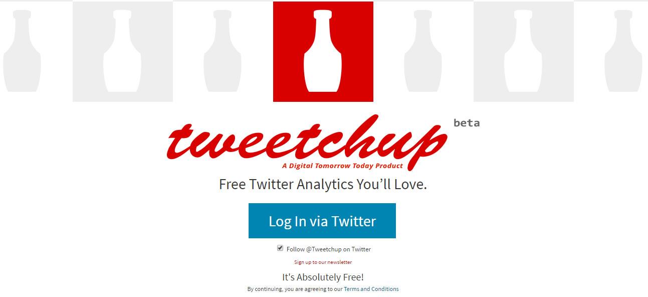 herramientas para analizar hashtags: Tweetchup
