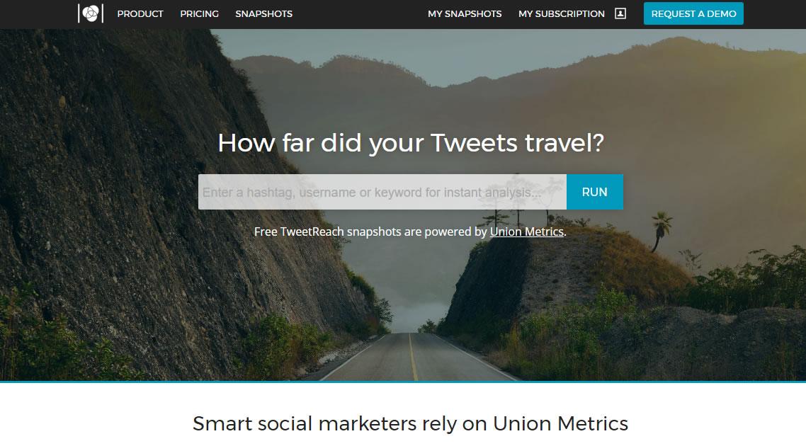herramientas para analizar hashtags: TweetReach