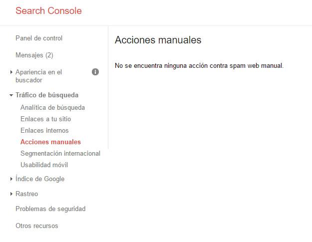 razones para utilizar Google Search Console