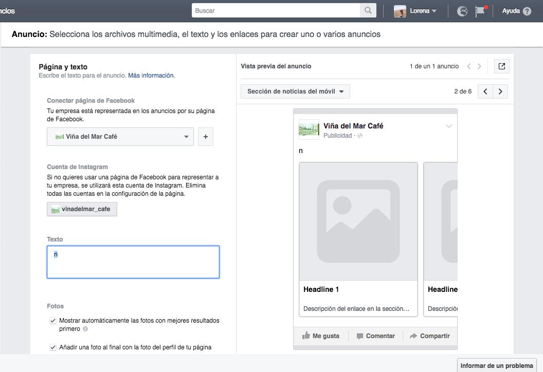 crear anuncios eficaces en Facebook