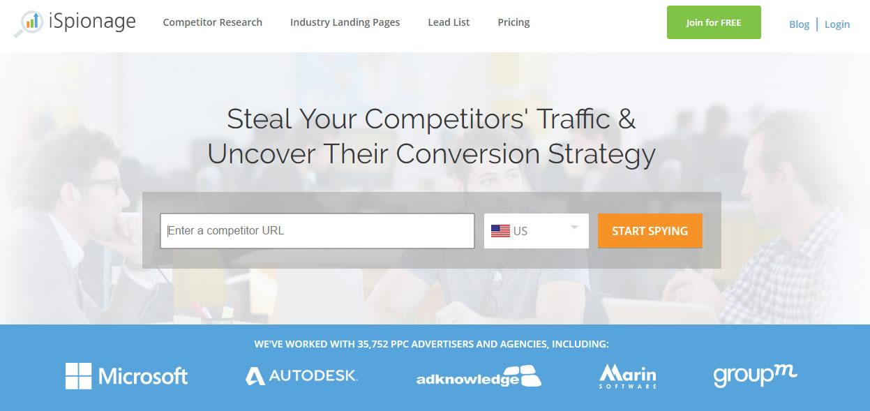 espiar a la competencia en Adwords: iespionage