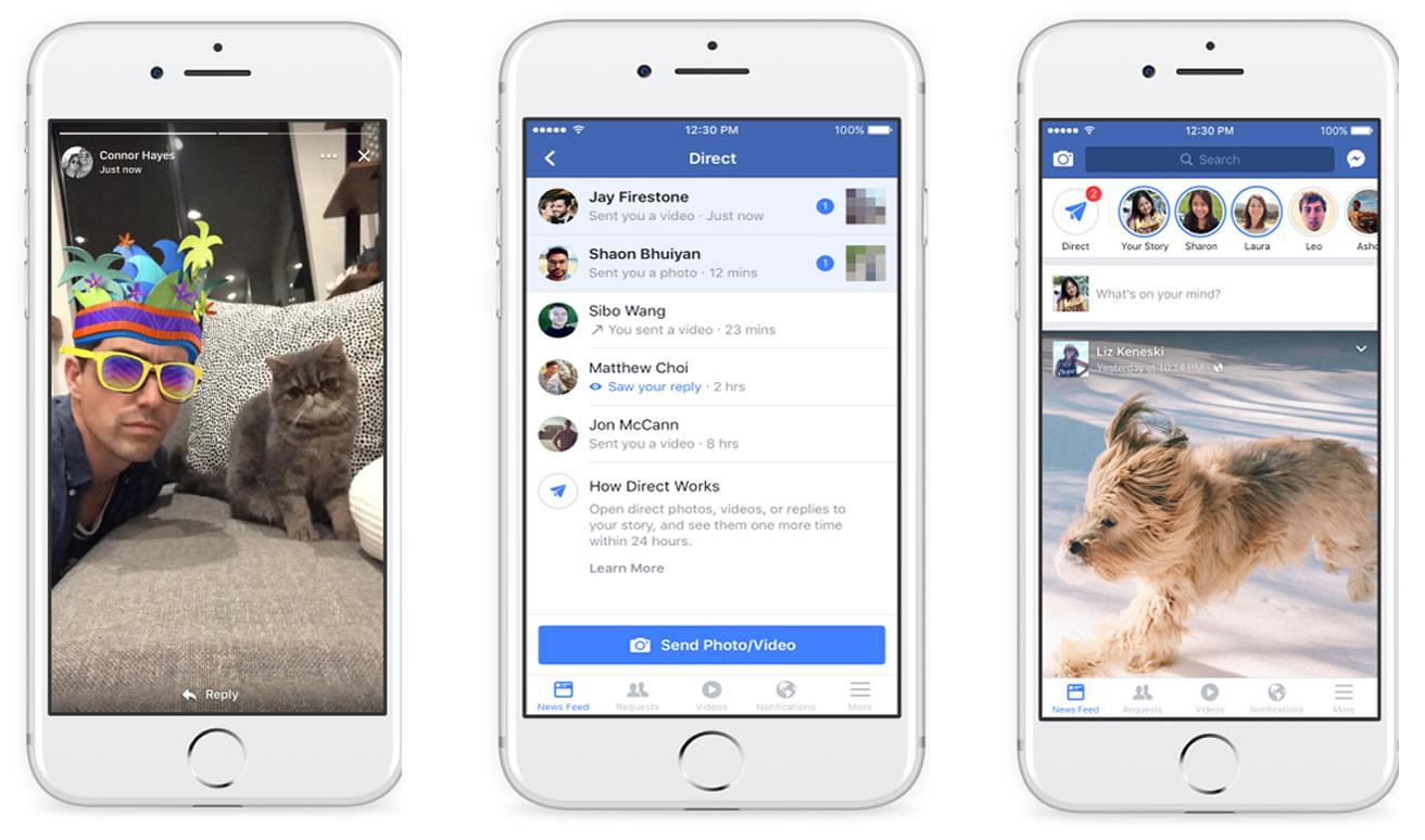 Facebook Stories en estrategias de marketing