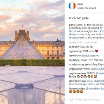 fomentar el turismo con Instagram: Paris