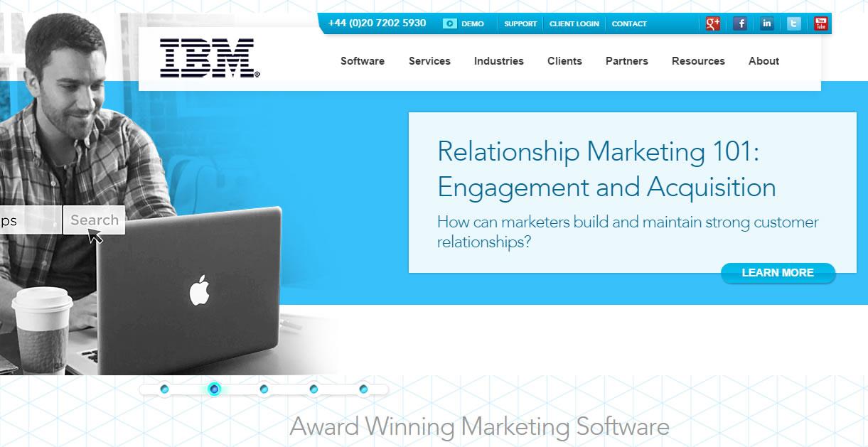 herramientas de email marketing : Silverpop