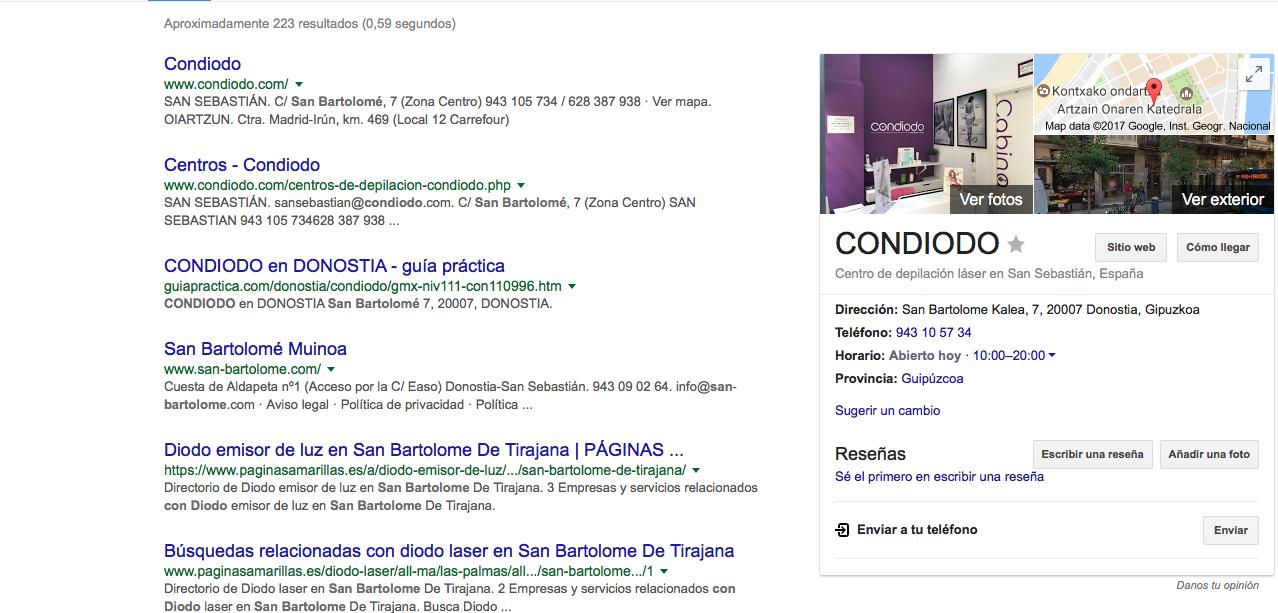 gestión de Google My Business