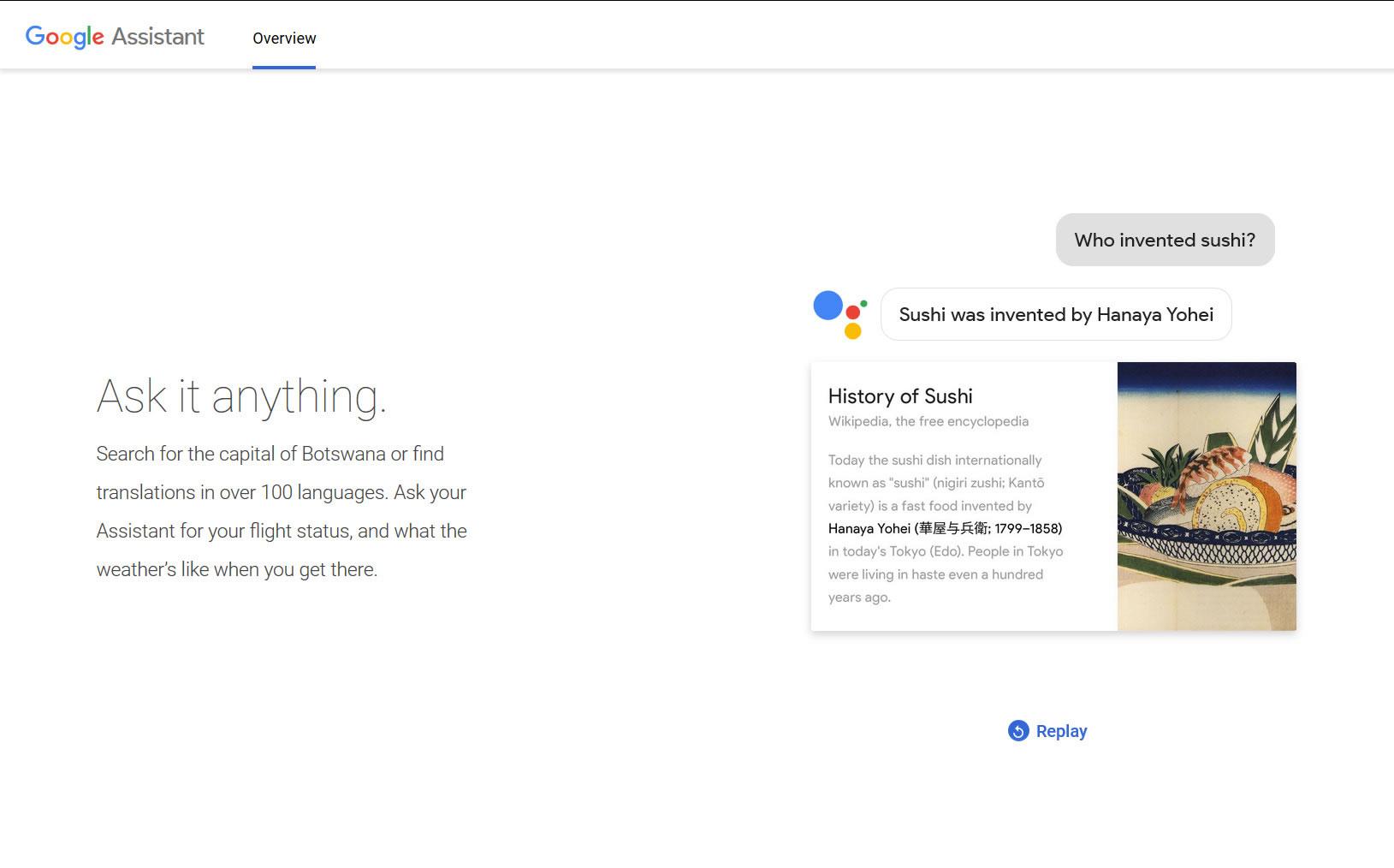 asistente de voz: Google Asistant