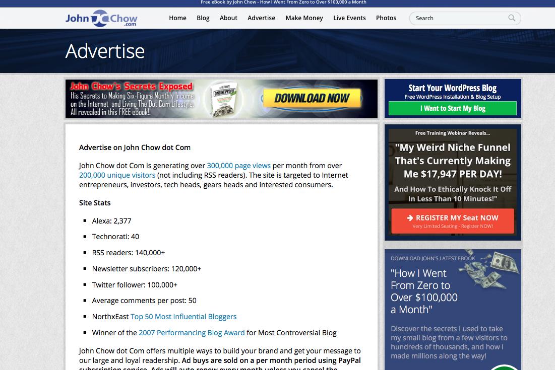 Cómo conseguir publicidad para tu blog