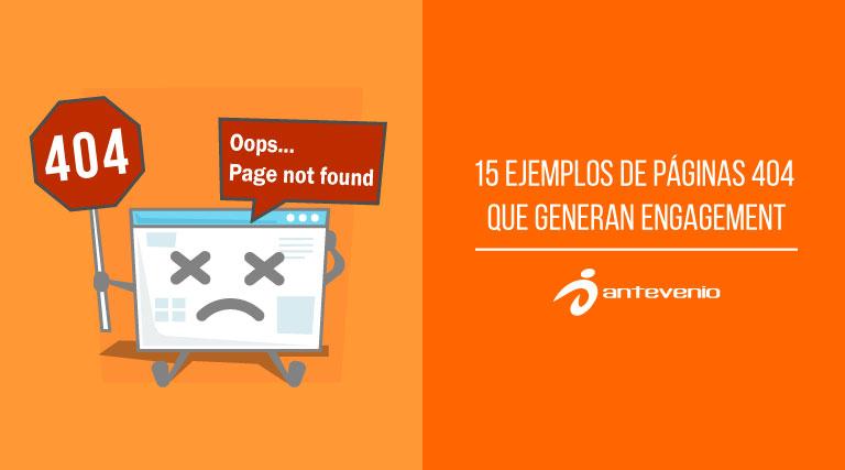 ejemplos de paginas 404