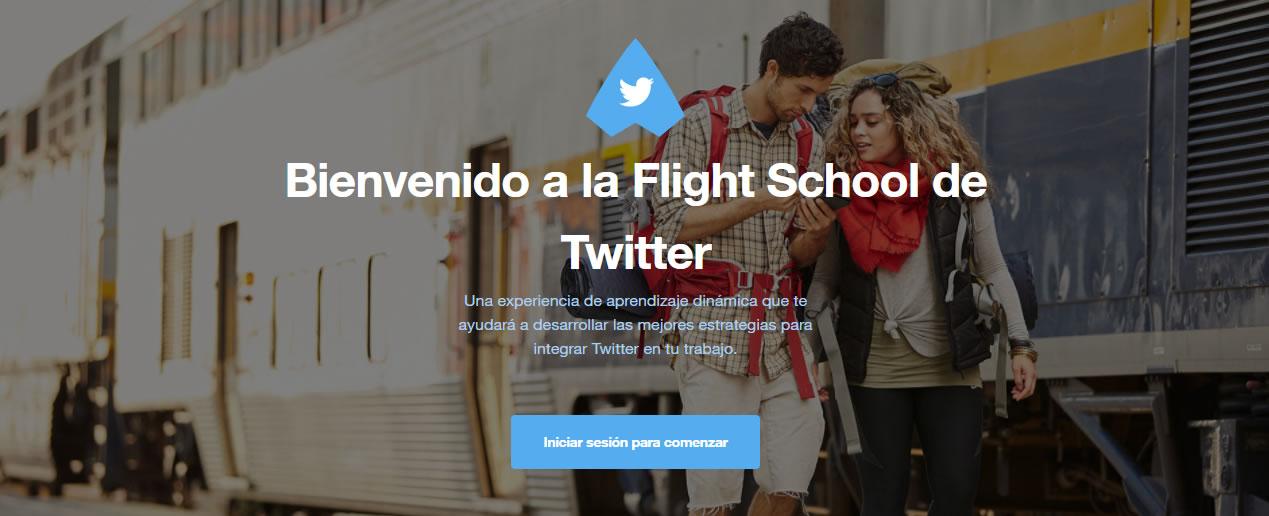 Flight School de Twitter