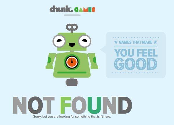 ejemplos de páginas 404