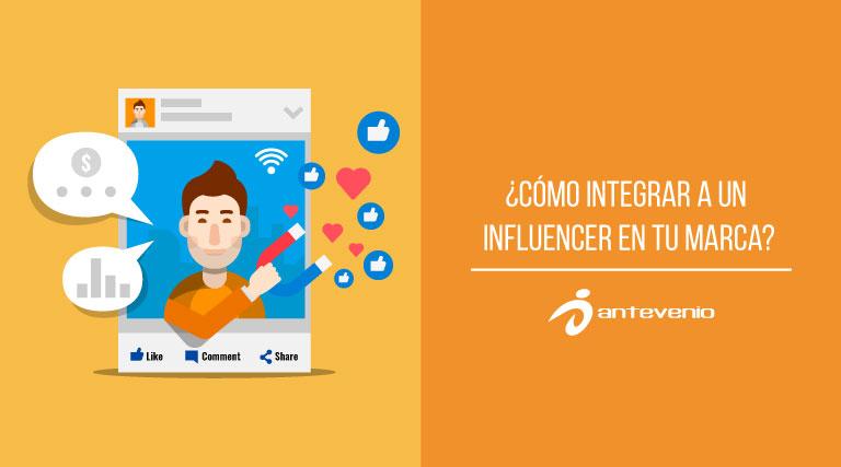 como integrar a un influencer en tu marca