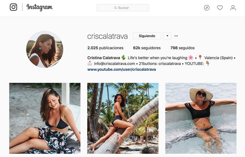 microinfluencers de moda: Cris Calatrava