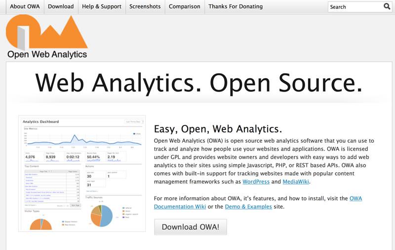 Open Web Analytics