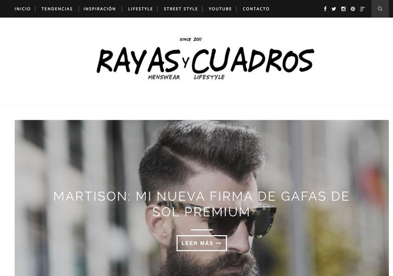 microinfluencers de moda: Rayas y cuadros