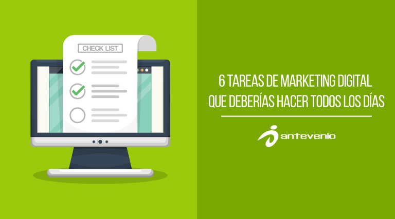 tareas de marketing digital