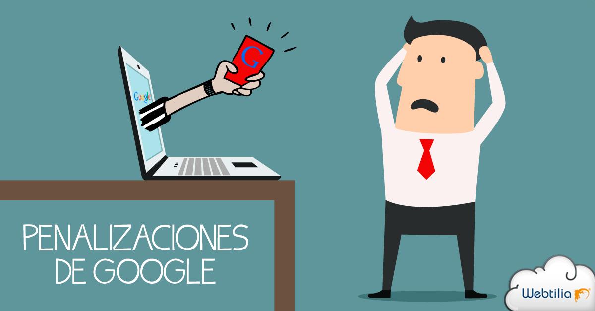 penalizaciones de Google en Guest blogging