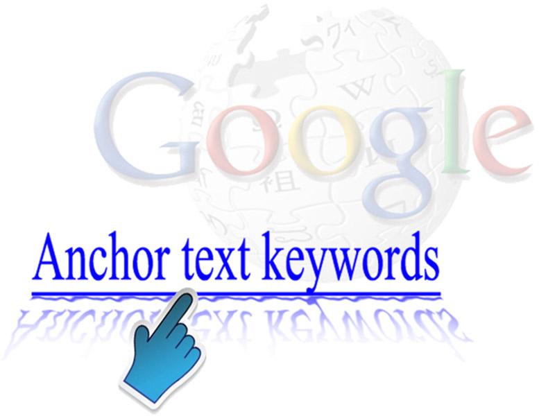 consejos para posicionar un site: anchor text
