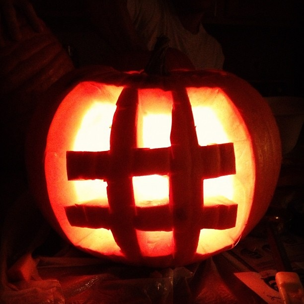 hashtag en Halloween