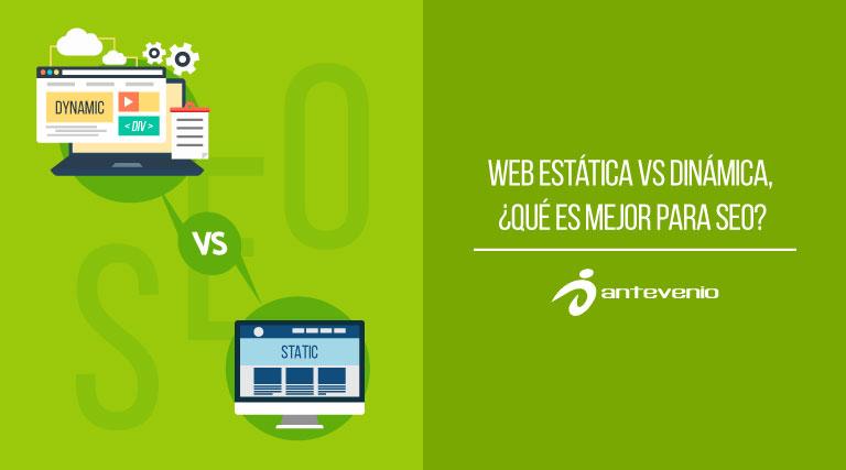 web estática vs dinámica