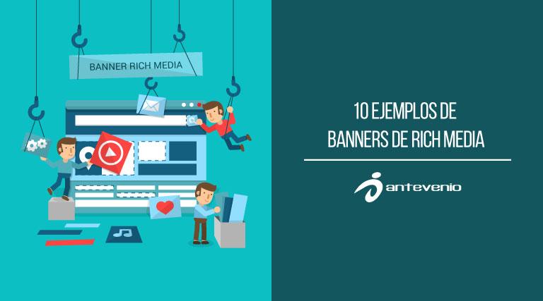 10 Ejemplos De Banners De Rich Media Y Descripción