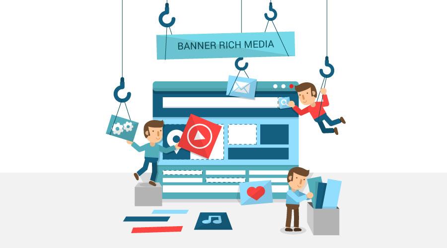 banners de rich media