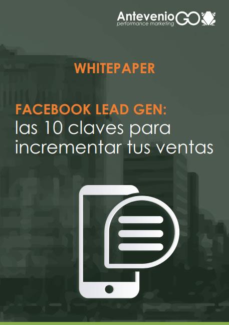 guía Facebook lead gen