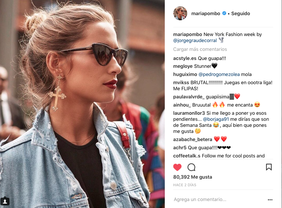 influencers de moda en Instagram