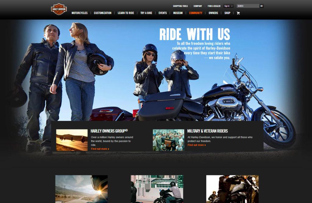 Harley-Davidson-comunidad
