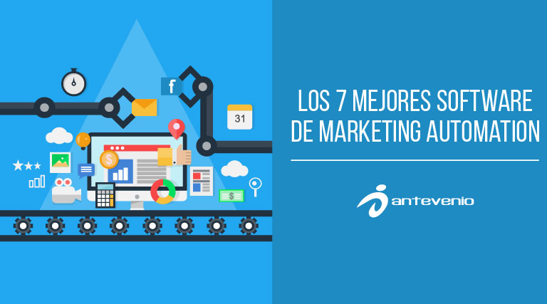 Los 7 mejores software de marketing automation