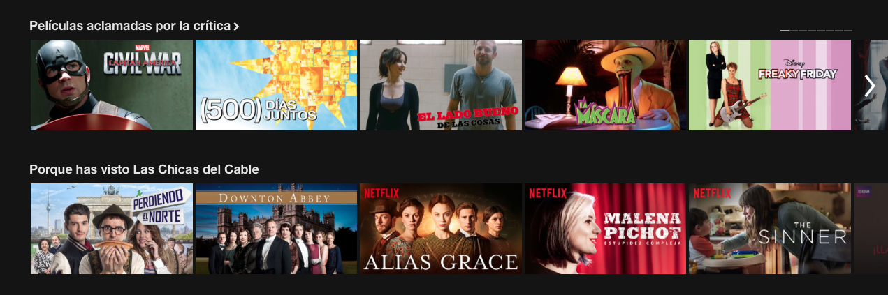 machine learning netflix