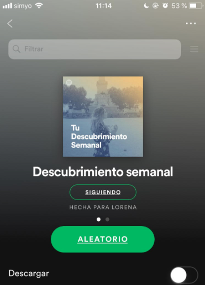 Spotify machine learning
