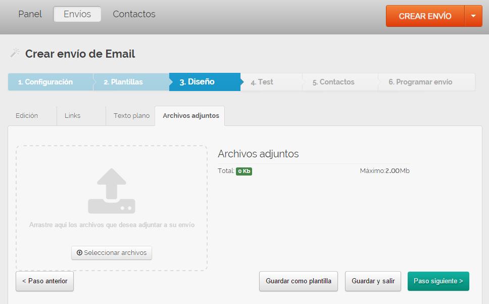 enviar correos masivos con adjuntos diferentes y personalizados archivos