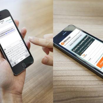 Enviar mensajes sms desde internet