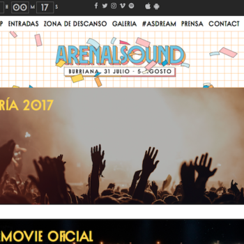 captación de leads para festivales de música landing