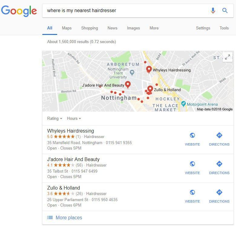 SEO para búsqueda por voz local