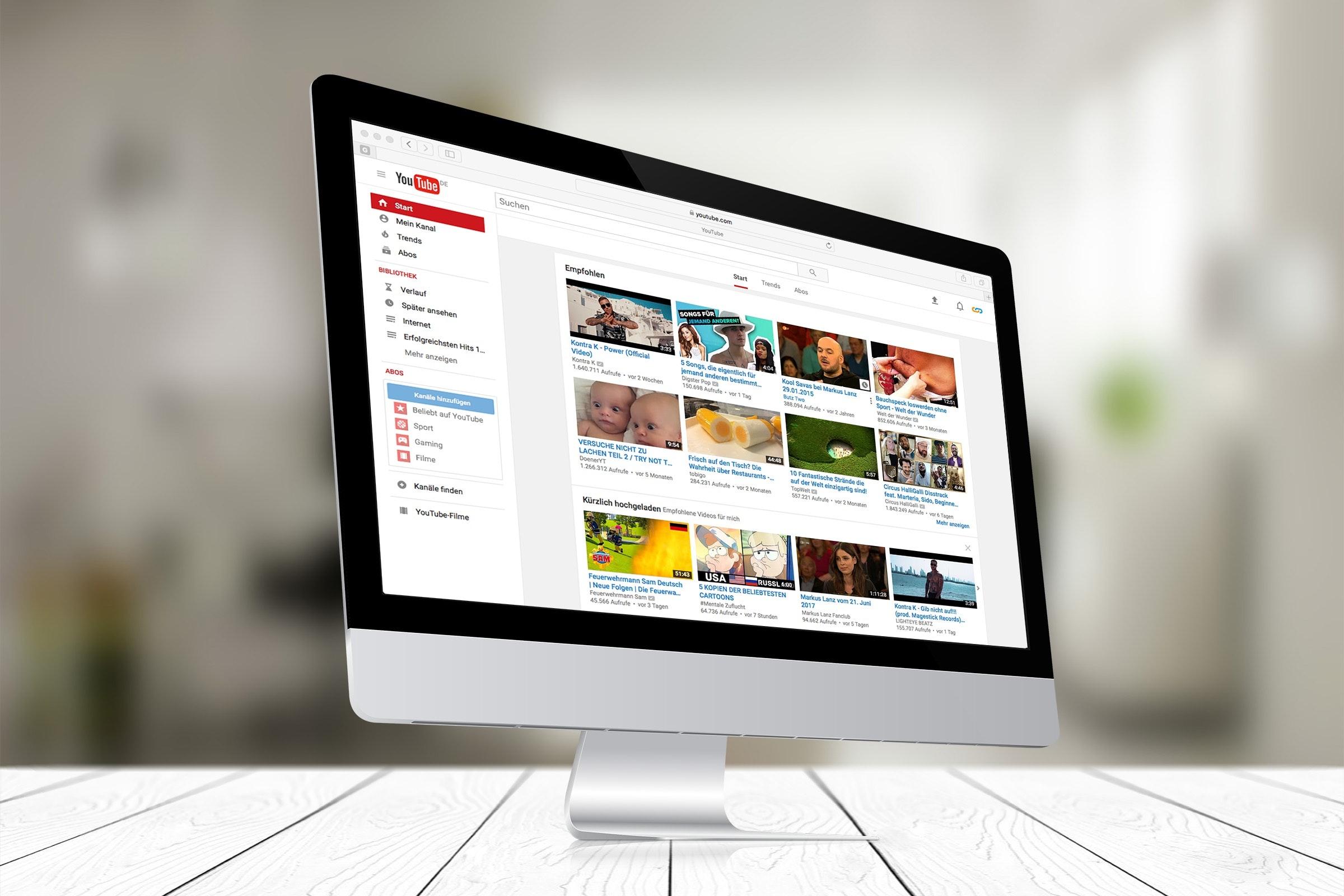 Youtube una forma comprar publicidad en Google