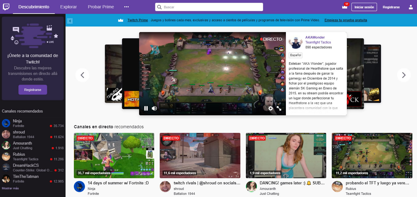 estrategia de marketing en esports: plataformas de streaming