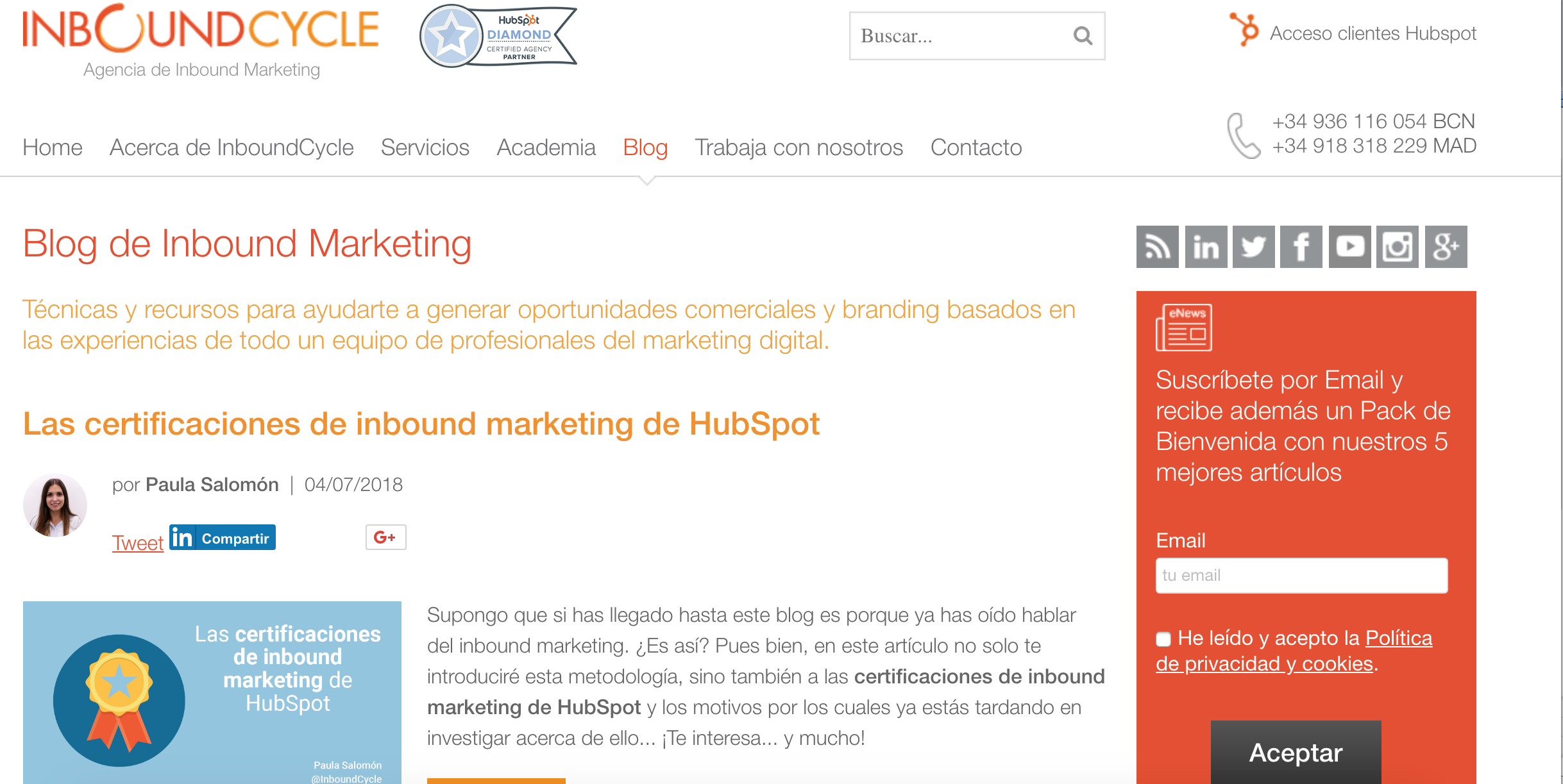 aprender marketing automation con InboundCycle