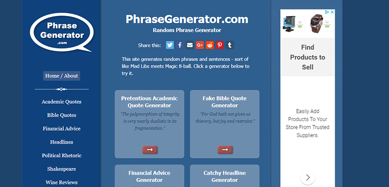 PhraseGenerator